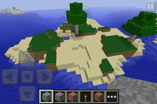 how to make a deep flat world in minecraft pe